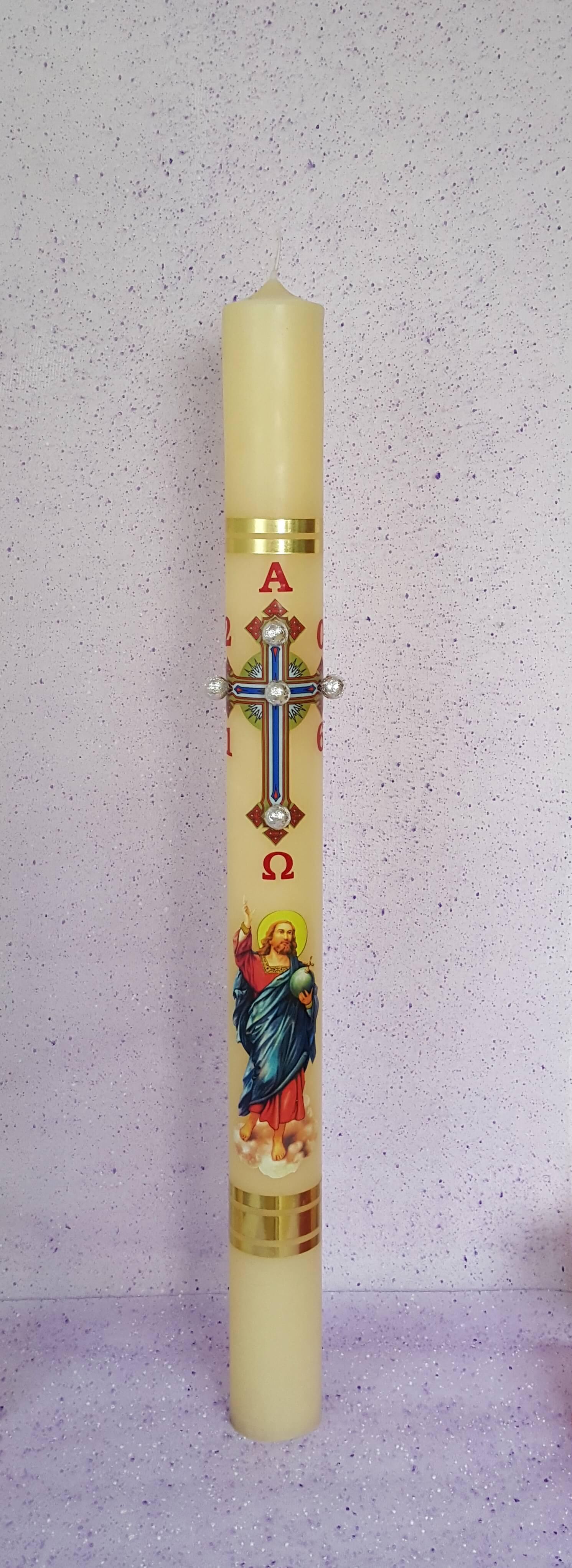 Uskrsna svijeća  80*1100